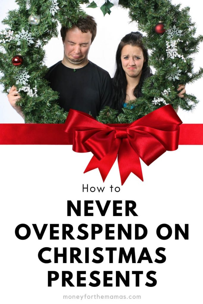 how to never overspend on christmas presents