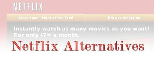 Netflix Price Increase - Alternative Services