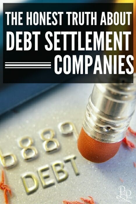 If you are in debt do NOT use a debt settlement company - it could cost you!!!!